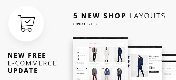 shop update - Definity - Multipurpose One/Multi Page Template